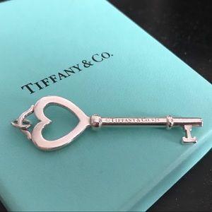 Tiffany & Co Heart Key Pendant